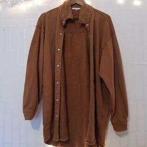 TANNISH/BROWN sweater long sleeve cardigan